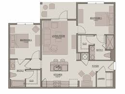 Georgetown Floor Plan 2 Bed 2 Bath Apartment In Celebration Fl Evander Square