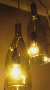 Wine Bottle Light Fixtures Wine Lighting Fixtures How To Make Wine Bottle Chandelier U2013 Home