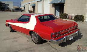 The Car In Starsky And Hutch Ford Gran Torino Starsky U0026 Hutch Tv Pilot Replica Low Miles Great