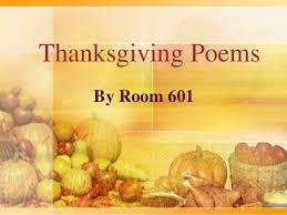 thankful poems