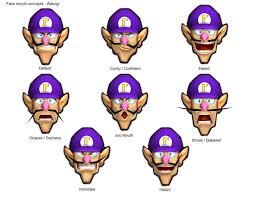 Super Happy Meme Face - super mario strikers chraged concept art waluigi know your meme