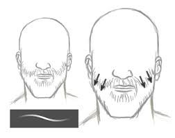 how to paint realistic hair in adobe photoshop short hair u0026 beards