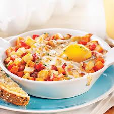 cuisine oeuf cassolettes d œuf patate douce et pancetta recettes cuisine