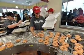 fresno krispy kreme doughnut shop opens the fresno bee