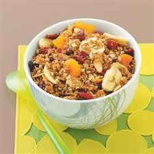 diabetic breakfast recipe ultimate fruity granola recipe taste of home