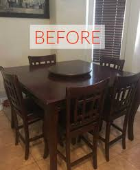 wood dining room tables and chairs 9 dining room table makeovers we can u0027t stop looking at hometalk
