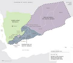 Civil War States Map Mapping The Yemen Conflict European Council On Foreign Relations