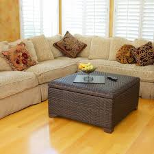 Cushioned Ottoman Storage Storage Cube Stool Cushioned Ottoman Coffee Table Accent