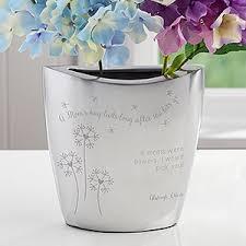 Silver Vases Personalized Flower Vase A Mom U0027s Hug
