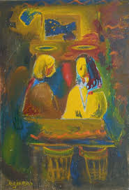 angels at the table angels at the table by ashot jegikjan artfinder