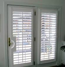 Sliding Louvered Patio Doors Wood Shutters For French Doors Boyd S Blinds And Drapes Hunter