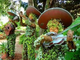 Quail Botanical Gardens Encinitas California San Diego Botanic Garden Encinitas Afar