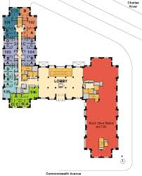 floor plans first floor student village of boston university