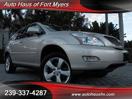 lexus for sale fl 2004 lexus rx 330 awd ft myers fl for sale in fort myers fl