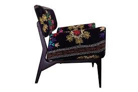 Suzani Fabric Chair Suzani Chair The Hobo Society Ethnic Fabric Design Armchair