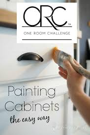 Who Paints Kitchen Cabinets by Painting Kitchen Cabinets The Easy Way Seeking Lavendar Lane