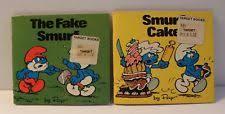 book smurfs toys ebay