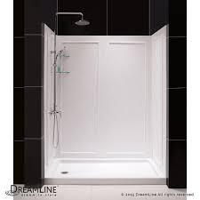 shower door spacer dreamline showers qwall 5 shower backwalls kit