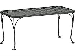 mesh wrought iron patio furniture wrought iron outdoor coffee tables luxedecor