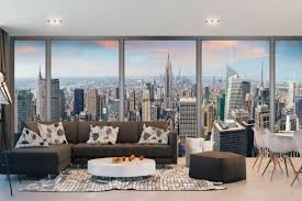 mural daily view of new york window maxi wall mural daily view of new york window maxi