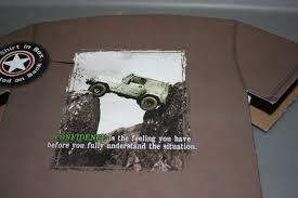 jeep life shirt mountain life u201cconfidence u201d t shirt on ebay ewillys