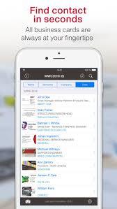 Business Card Capture App Business Card Scanner U0026 Reader On The App Store
