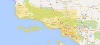 Map Of Los Angeles And Surrounding Areas by Get Immersive Virtual Experiences For Any Property
