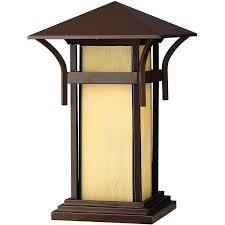 Outdoor Column Light by Hinkley Pier Column Mount Light Fixtures Ultimate Patio
