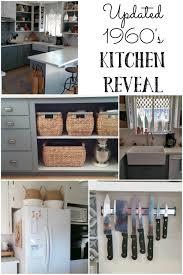 update kitchen cabinets updated 1960 s kitchen reveal vintage cottage