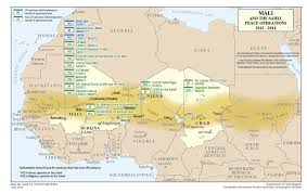 sahel desert map mali and the sahel global peace operations review