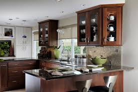 kitchen red wood kitchen island natural wood countertop natural
