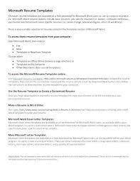 free word templates for word basic resume template word ekit