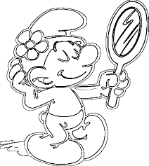 smurf christmas coloring pages coloring home