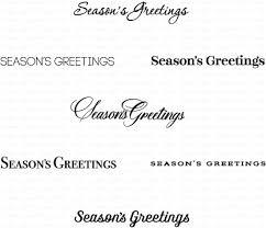 keep it simple season s greetings mini st set papertrey ink