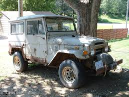 1971 Toyota Land Cruiser Fj40 Id 5650