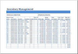 Inventory Template Excel 2010 15 Free Inventory Templates Sles In Excel Spreadsheet