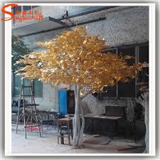 wedding wishing trees for sale 8ft indoor artificial golden tree wedding wishing tree for