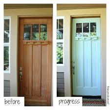 Exterior Door Color Front Door Makeover The Inspired Room
