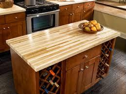 interior dark varnished walnut butcher block kitchen cabinet top