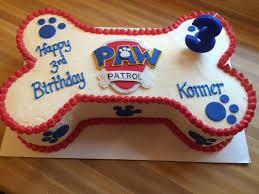 paw patrol birthday cake instructions paw