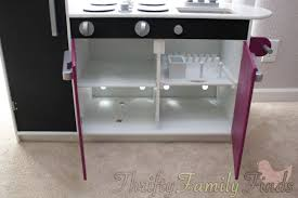 modern play kitchen modern play kitchen makeover for less than 20