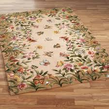 Round Flower Rug by Floral Rugs Touch Of Class