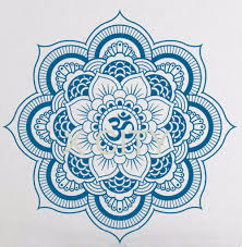 Lotus Flower Wall Decal Om by Online Buy Wholesale Wall Decals Mandala Indian Pattern Yoga From