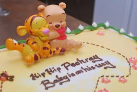 winnie the pooh baby shower cake hip hip pooh for stef