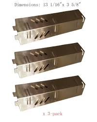 backyard grill gas grill amazon com sh1561 3 pack stainless steel heat plate burner