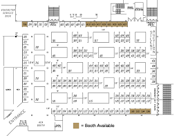 Exhibit Floor Plan Aircraft Electronics Association U0027s 54th Annual International