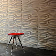 wave 3d surfaces wall panel design with light brown color scheme