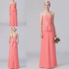 online get cheap coral plus size bridesmaid dress aliexpress com