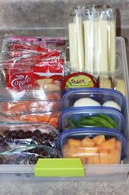 rangement ices cuisine create a healthy snack drawer for the fridge toss in pre packed
