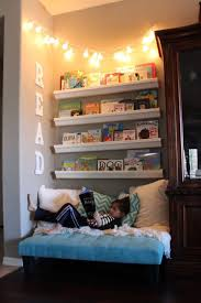 corner reading nook wondering how to make the cutest little kids reading nook to create